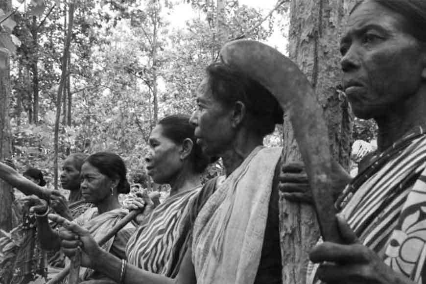 Santhal women of Bankura unite to fight log poachers