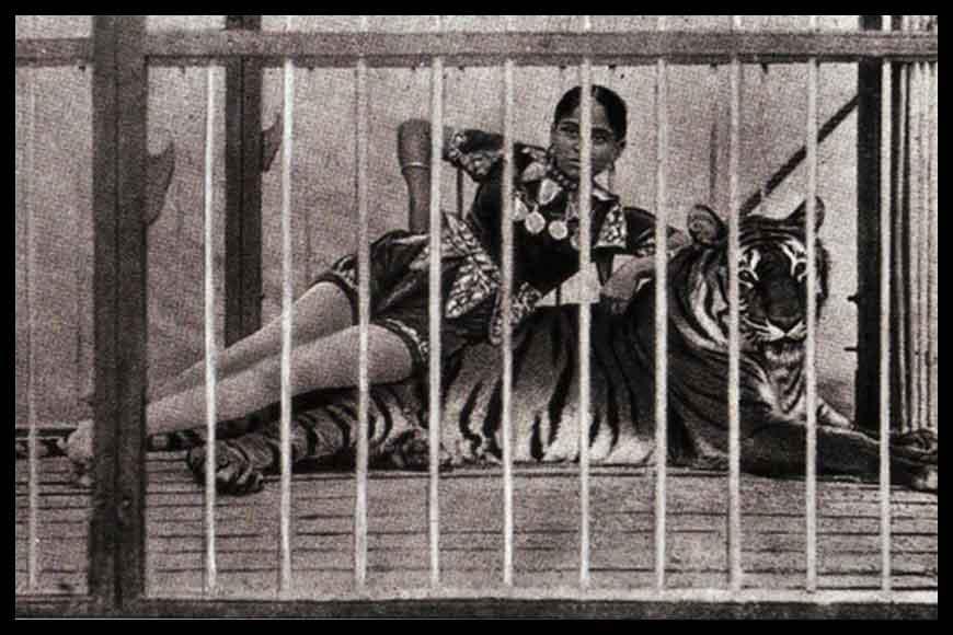 Child of a sex worker, Sushila Sundori showed tiger stunts a century back