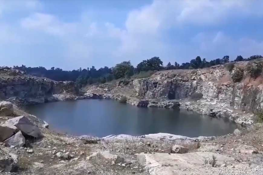 Marble Lake of Ayodhya Hills-- a natural oasis of Bengal