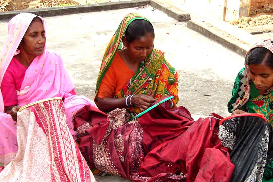 Bengal's eye of the needle – Kantha fabric art