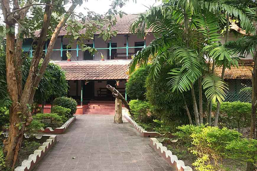 The house that Sarat Chandra built
