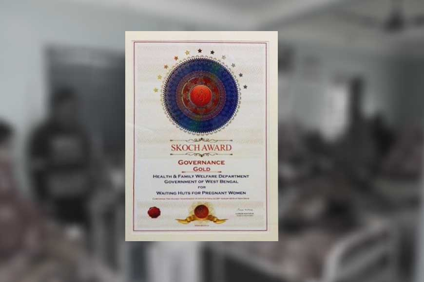 State government wins prestigious SKOCH Health Award for making 'waiting huts' for pregnant women