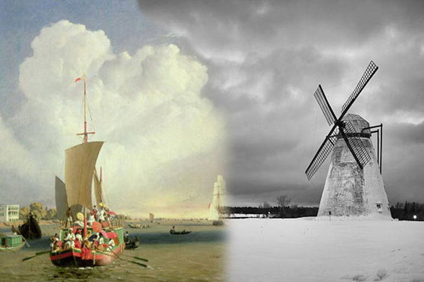 Once upon a time Kolkata had twin windmills in the 18th century!