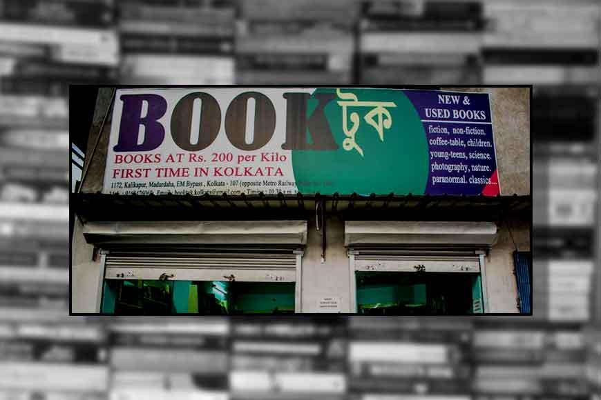Bookstore in Kolkata selling books in kilos!