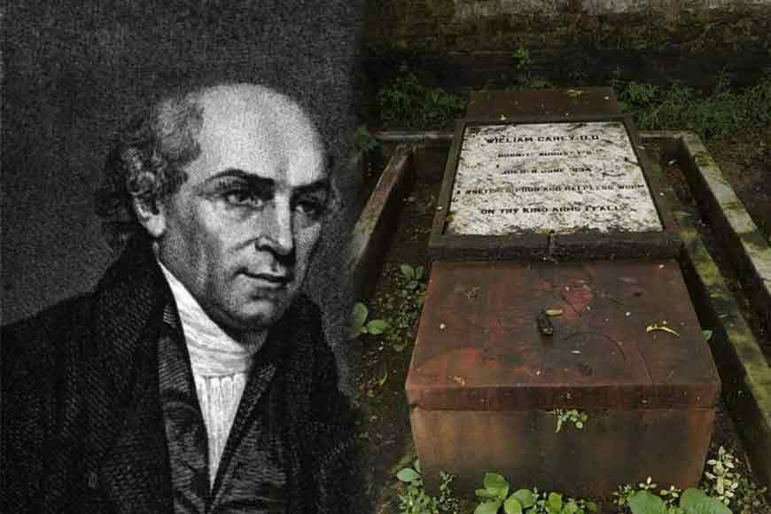 social reformer William Carey's cemetery got cleaned