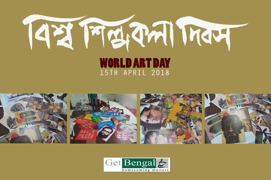 World Art Day Walk in Kolkata