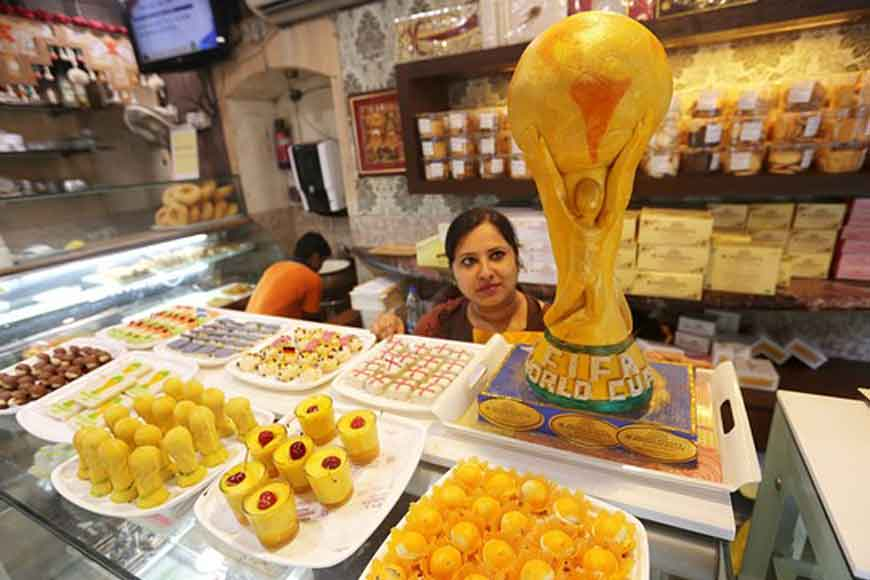 City sweet shops bring new football themed sweets